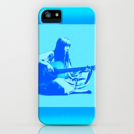 Blue Songbird Joni Mitchell iPhone Case