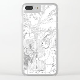 beegarden.works 006 Clear iPhone Case