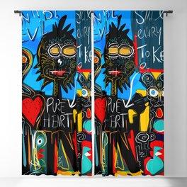 Don't be Evil Street Art Graffiti Blackout Curtain