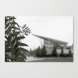 Stuff Behind Plants - CSU Rec Center Canvas Print