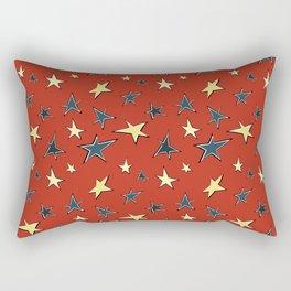 Christmas stars 3 Rectangular Pillow