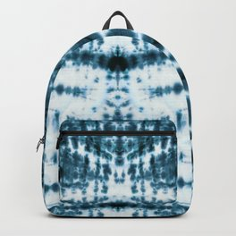 Teal Tribe Shibori Backpack