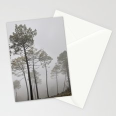 Dream forests. Triptych Stationery Cards