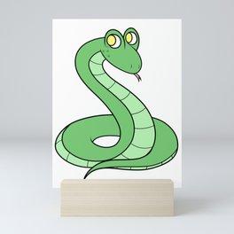 Sneeky Snek Mini Art Print