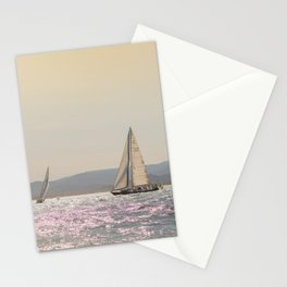 Nautical Travel Photography | Digital Color Nature Ocean Sailboat Sea Boats Harbor Sailing Europe Stationery Cards