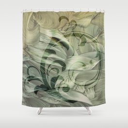 Goddess at Dawn Shower Curtain