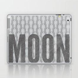 Moon Minimalist Poster Laptop & iPad Skin