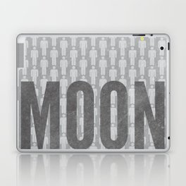 Moon Minimalist Poster Laptop & iPad Skin