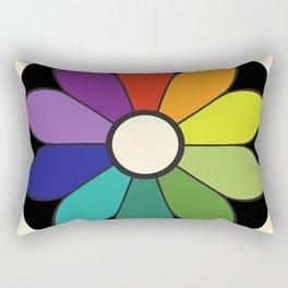 James Ward's Chromatic Circle (interpretation) Rectangular Pillow