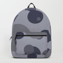 Bubbles grey - design Backpack