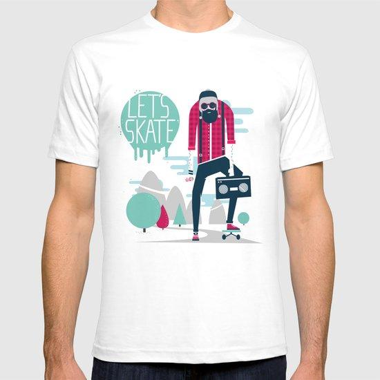 Let's skate  T-shirt