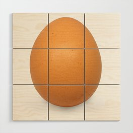 Chicken Egg , the brown eggs Artistic inspiration Wood Wall Art