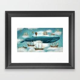 Ocean Meets Sky - revised Framed Art Print