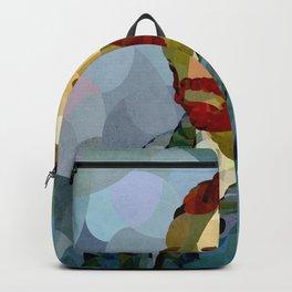 Curves - Autorretrato de Vincent van Gogh Backpack