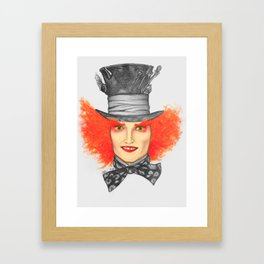 The Mad Hatter Framed Art Print