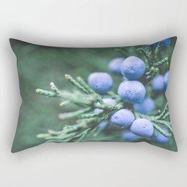 Winter Berries Rectangular Pillow