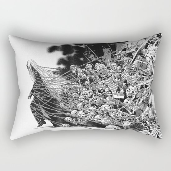 Scary Soul Rectangular Pillow