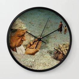 Bottom of the Sea Wall Clock