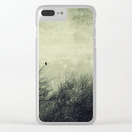 Talk to me ~ Birds silhouettes Clear iPhone Case