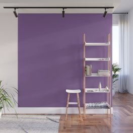 Dark English Lavender 1 - Color Therapy Wall Mural