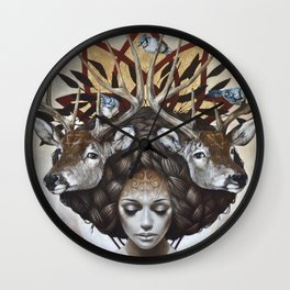 Douceurs de Virginie Wall Clock