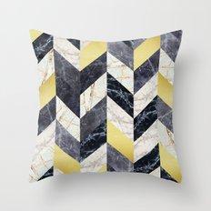 Fashion marble Throw Pillow