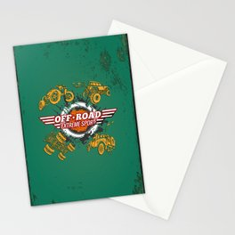 Offroad Extreme Sport Stationery Cards
