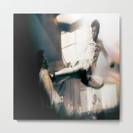 Ip Man Flying Kick Metal Print