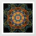 The Sri Yantra - Sacred Geometry by olgakuczer