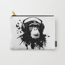 Monkey Business - White Carry-All Pouch