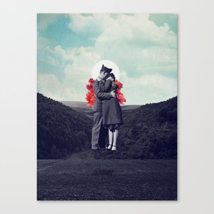 Hold My Breath Canvas Print