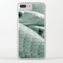 Shrewd as a Serpent Clear iPhone Case
