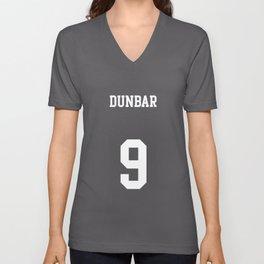 DUNBAR - 9 Unisex V-Neck