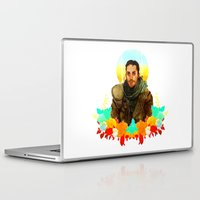 mad max Laptop & iPad Skins featuring Mad Max by chazstity