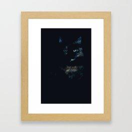 Cat (voodoo)  Framed Art Print