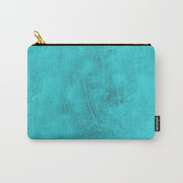 Metal Blue Turquoise Background Carry-All Pouch