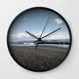 Another Day on the Beach Wall Clock