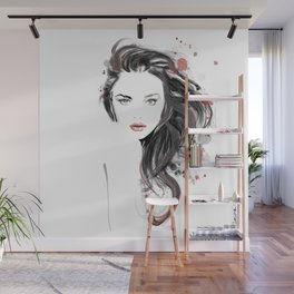 The look of seduction Wall Mural