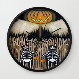 The Scarecrow Wall Clock