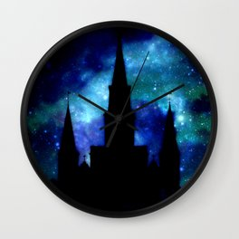 Religious Space : Galaxy Cathedral Wall Clock