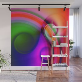 color whirl -10- Wall Mural