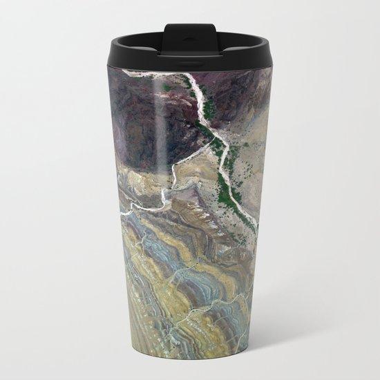 Grand Canyon bird's eye view #3 Metal Travel Mug