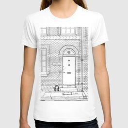 Newport Door No. 28 (ink) T-shirt