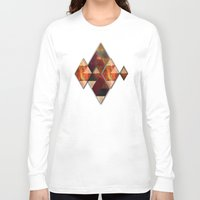 polygon Long Sleeve T-shirts featuring Polygon by Tony Vazquez