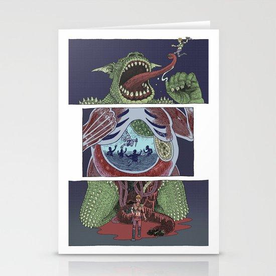 Troll Killer Stationery Cards