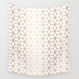 Hive Mind - Rose Gold #113 Wall Tapestry