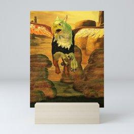 Myth Series 1 Griffin Earth Mini Art Print