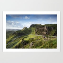 The Road to the Quiraing II Art Print