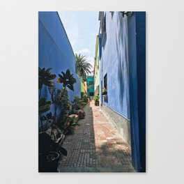 Lima Alley Canvas Print
