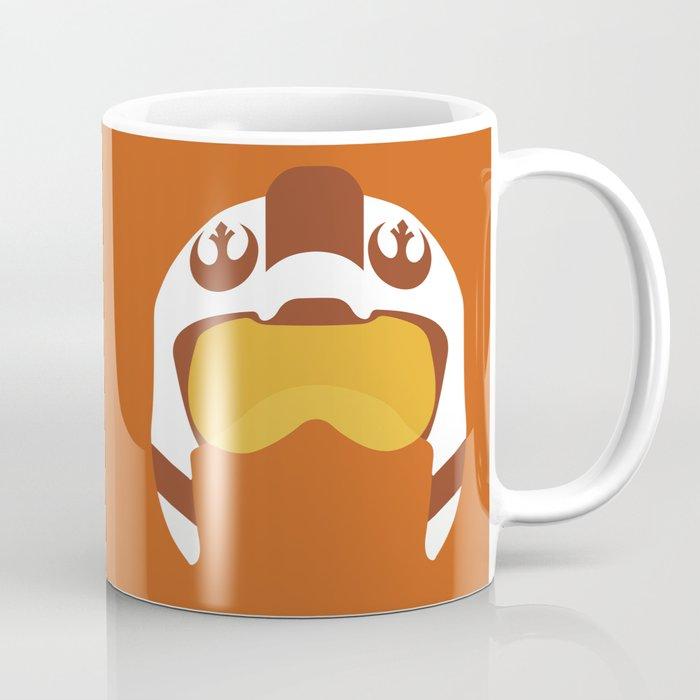 Star Wars Minimalism - Red Five Coffee Mug